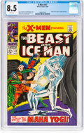 Silver Age (1956-1969):Superhero, X-Men #47 (Marvel, 1968) CGC VF+ 8.5 White pages....