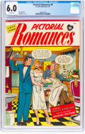 Golden Age (1938-1955):Romance, Pictorial Romances #8 (St. John, 1951) CGC FN 6.0 Off-whitepages....
