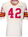 Football Collectibles:Uniforms, 1970 Charley Taylor Game Worn & Signed Washington Redskins Jersey and Pants. ...