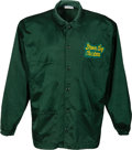 Football Collectibles:Uniforms, Lombardi Era Style Green Bay Packers Game Worn Coach's Sideline Jacket and Cap. ...