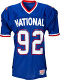Football Collectibles:Uniforms, 1990 Reggie White Game Worn Pro Bowl Jersey and Pants - From Reggie White Collection (Shows Great Wear!)....
