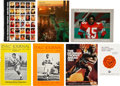 Football Collectibles:Programs, 1962-96 Heisman Trophy Banquet Signed Programs Lot of 7. ... (Total: 7 items)