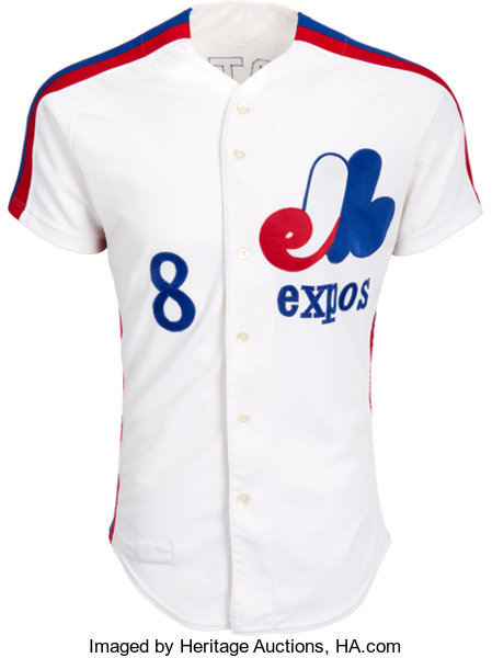 detailed pictures 6e2b9 e68b7 1980 Gary Carter Game Worn Montreal Expos Jersey ...