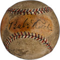 Baseball Collectibles:Balls, Early 1930's Babe Ruth & Lou Gehrig Dual-Signed Baseball....