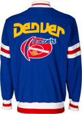Basketball Collectibles:Others, 1977-78 Bobby Wilkerson Game Worn Denver Nuggets Warmup Jacket....