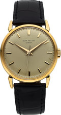 Timepieces:Wristwatch, Patek Philippe, Very Fine Ref. 1578J, 18k Gold Manual Wind, Circa1956. ... (Total: 0 Items)