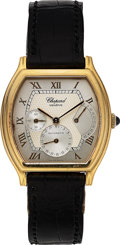 Timepieces:Wristwatch, Chopard, Fine 18K Yellow Gold Tonneau Power Reserve, Automatic,Ref. 2248, Circa 2000s. ...