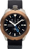Timepieces:Wristwatch, Seiko, Very Rare SpaceWalk, Limited Edition 005/100, Titanium, Circa 2008. ...