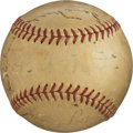Baseball Collectibles:Balls, 1940's Baseball Hall of Famers & More Multi-Signed Baseballwith Babe Ruth & Ted Williams....