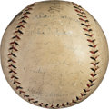 Baseball Collectibles:Balls, 1928-29 Chicago Cubs Team Signed Baseball with Hack Wilson. ...