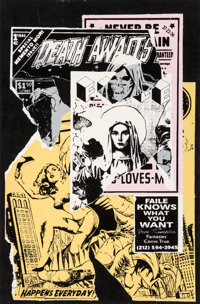 FAILE (20th Century) Faile Knows, 2007 Screenprint in colors on Lenox wove paper 38-1/4 x 25 inch