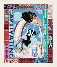 FAILE (20th Century) A Call to Adventure, 2013 Screenprint in colors on Coventry Rag paper 28-3/4