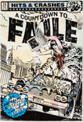FAILE (20th Century) Hits and Crashes (White Edition), 2007 Screenprint in colors on wove paper 2