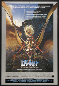 """Heavy Metal (Columbia, 1981). One Sheet (27"""" X 41"""") Style A. Animated Fantasy. Starring the voices of John Can..."""