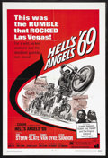 "Movie Posters:Action, Hell's Angels '69 (American International Pictures, 1969). OneSheet (27"" X 41""). Biker Film. Starring Tom Stern, Jeremy Sla..."