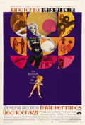 "Movie Posters:Fantasy, Barbarella (Paramount, 1968). One Sheet (27"" X 41"") Style B. Thisone sheet is extremely scarce and features pop-art graphic..."