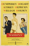 "Movie Posters:Romance, Sabrina (Paramount, 1954). One Sheet (27"" X 41""). Over the years,Audrey Hepburn has become one of the world's most beloved ..."