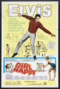 """Movie Posters:Elvis Presley, Girl Happy (MGM, 1965). One Sheet (27"""" X 41""""). Rock Musical.Starring Elvis Presley, Shelley Fabares, Harold J. Stone and Ga..."""