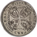 (1688) TOKEN American Plantations Token MS60 PCGS. Newman 2-B. Breen considered this variety (with the head beneath the...