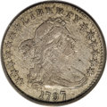 Early Half Dimes: , 1797 H10C 13 Stars XF40 PCGS. V-1, LM-4, R.6. This is the rarest offour varieties for the year, and it is the only die mar...
