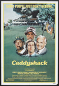 """Movie Posters:Comedy, Caddyshack (Orion, 1980). One Sheet (27"""" X 41""""). Comedy. StarringChevy Chase, Rodney Dangerfield, Ted Knight, Bill Murray, ..."""