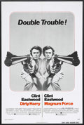 "Movie Posters:Crime, Dirty Harry/Magnum Force Combo (Warner Brothers, 1975). One Sheet (27"" X 41""). Crime Thriller. Starring Clint Eastwood, Harr..."