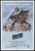 """Movie Posters:Science Fiction, The Empire Strikes Back (20th Century Fox, 1980). One Sheet (27"""" X41"""") Style B. Sci-Fi Action. Starring Mark Hamill, Harris..."""