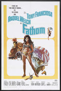 "Movie Posters:Adventure, Fathom (20th Century Fox, 1967). One Sheet (27"" X 41""). Adventure.Starring Raquel Welch, Tony Franciosa, Ronald Fraser, Gre..."
