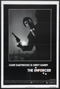 "Movie Posters:Action, The Enforcer (Warner Brothers, 1977). One Sheet (27"" X 41""). Crime.Starring Clint Eastwood, Tyne Daly, Harry Guardino, Brad..."