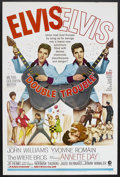 "Movie Posters:Elvis Presley, Double Trouble (MGM, 1967). One Sheet (27"" X 41""). Rock Musical.Starring Elvis Presley, John Williams, Yvonne Romain, The W..."
