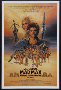 "Mad Max Beyond Thunderdome (Warner Brothers, 1985). One Sheet (27"" X 41""). Sci/Fi. Starring Mel Gibson, Tina T..."