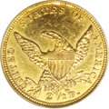 Classic Quarter Eagles: , 1838-C $2 1/2 --Genuine--NCS. MS60 Details, Cleaned. Variety 1-A. This is the only die pairing used for the coinage of 1838-...