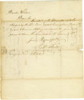 "Autographs:Inventors, Robert Fulton Autograph Letter Signed, 1 p., 8.25"" x 9.75"", New York, November 18, 1813 to ""Dr. Wilson"". Fulton pens, i..."