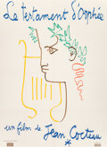 Prints & Multiples:European Modern, Jean Cocteau (French, 1889-1963). Le Testament d'Orphée, 1960. Offset lithograph in colors on paper. 62 x 46 inches (157...
