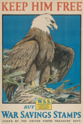 Prints & Multiples:Print, Charles Livingston Bull (American, 1874-1932). Keep Him Free, 1918. Lithograph in colors on paper. 29-3/4 x 19-3/4 inche...