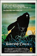 "Movie Posters:Animation, Watership Down (Avco Embassy, 1978). Folded, Very Fine-. One Sheet (27"" X 41"") & Photos (6) (8"" X 10""). Animation.. ... (Total: 7 Items)"