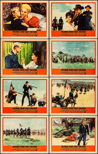"A Distant Trumpet & Other Lot (Warner Brothers, 1964). Overall: Very Fine. Lobby Card Sets of 8 (2 Sets) (11"" X..."