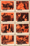 """Movie Posters:Western, The Left Handed Gun & Other Lot (Warner Brothers, 1958). Overall: Fine/Very Fine. Lobby Card Sets of 8 (2 Sets) (11"""" X 14"""").... (Total: 16 Items)"""