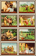 "Movie Posters:Adventure, Rampage & Other Lot (Warner Brothers, 1963). Very Fine-. LobbyCard Sets of 8 (2 Sets) (11"" X 14""). Adventure.. ... (Total: 16Items)"
