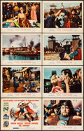 "Movie Posters:Action, The Tartars (MGM, 1961). Very Fine+. Lobby Card Set of 8 (11"" X14""). Action.. ... (Total: 8 Items)"