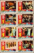 """Movie Posters:Comedy, Who's Been Sleeping in My Bed? (Paramount, 1963). Fine/Very Fine. Lobby Card Set of 8 (11"""" X 14""""). Comedy.. ... (Total: 8 Items)"""