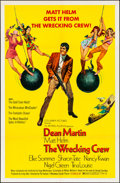 "Movie Posters:Action, The Wrecking Crew (Columbia, 1969). Folded, Very Fine-. One Sheet(27"" X 41""). Robert McGinnis Artwork. Action.. ....."