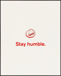 Movie Posters:Miscellaneous, Facebook Motivational Poster (Facebook, 2010s). Very Fine/...