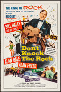 "Movie Posters:Rock and Roll, Don't Knock the Rock (Columbia, 1957). Folded, Very Fine-. One Sheet (27"" X 41""). Rock and Roll.. ..."