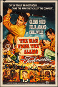 """Movie Posters:Western, The Man from the Alamo (Universal International, 1953). Folded, Fine/Very Fine. One Sheet (27"""" X 41""""). Western.. ..."""
