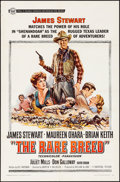 Movie Posters:Western, The Rare Breed (Universal, 1966). Folded, Fine/Very Fine.