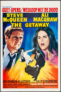 """Movie Posters:Action, The Getaway (Excelsior Films, 1973). Rolled, Fine+. Trimmed Belgian (14"""" X 21.25""""). Action.. ..."""