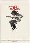 """Movie Posters:Rock and Roll, Jimi Hendrix (Warner Brothers, 1973). Folded, Fine/Very Fine. Poster (20"""" X 28""""). Rock and Roll.. ..."""