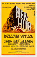 "Movie Posters:Academy Award Winners, Ben-Hur (MGM, R-1969). Folded, Very Fine. One Sheet (27"" X 41""). Joseph Smith Artwork. Academy Award Winners.. ..."