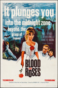 """Movie Posters:Horror, Blood and Roses (Paramount, 1961). Folded, Very Fine. One Sheet(27"""" X 41""""). Horror.. ..."""
